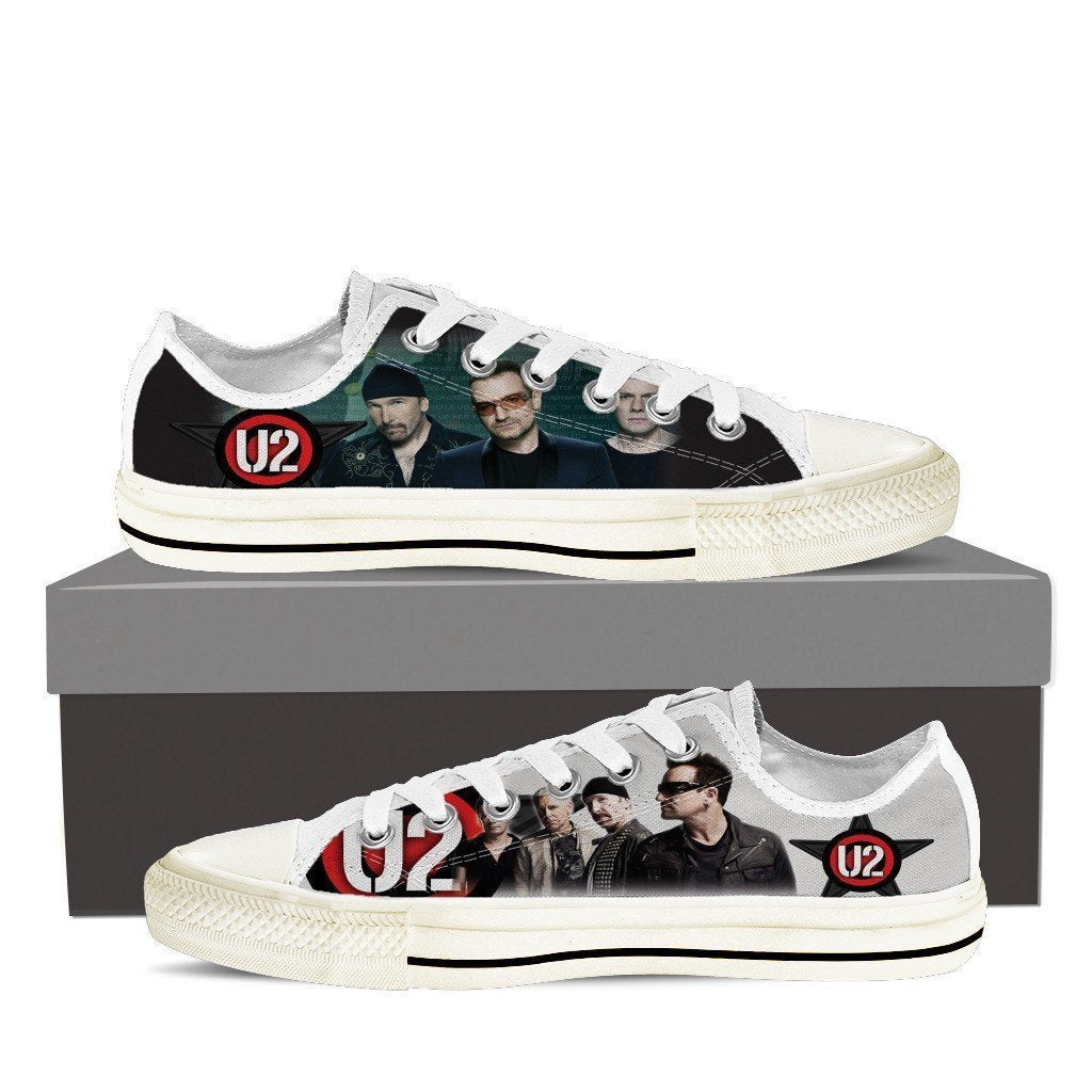 u2 ladies low cut sneakers