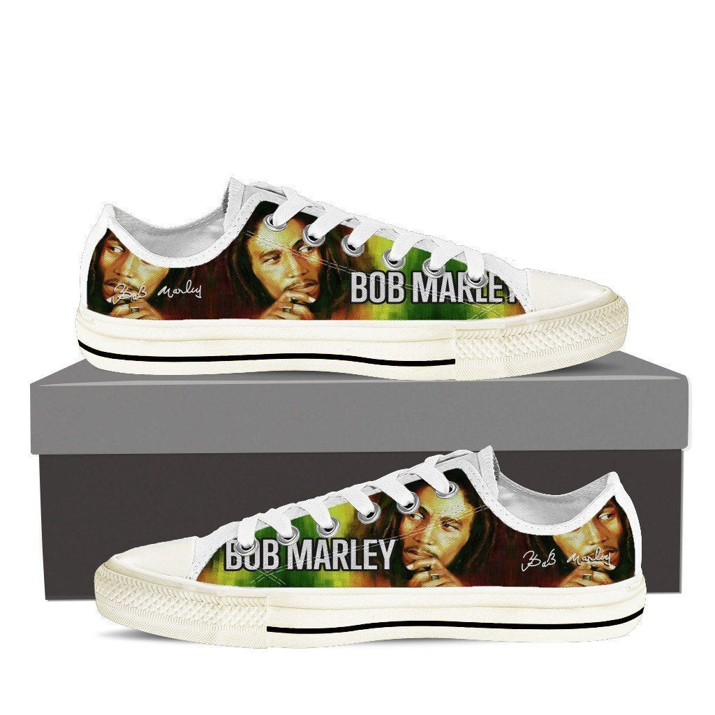 bob marley ladies low cut sneakers