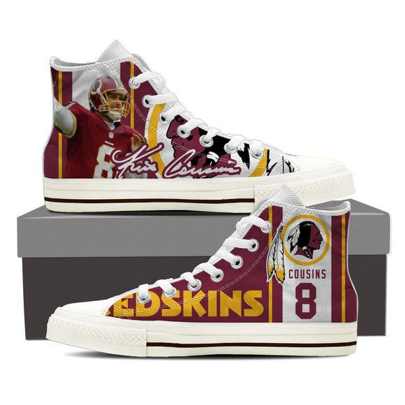 kirk cousins mens high top sneakers high top