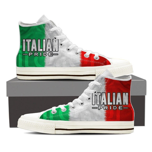 italian pride mens high top sneakers high top