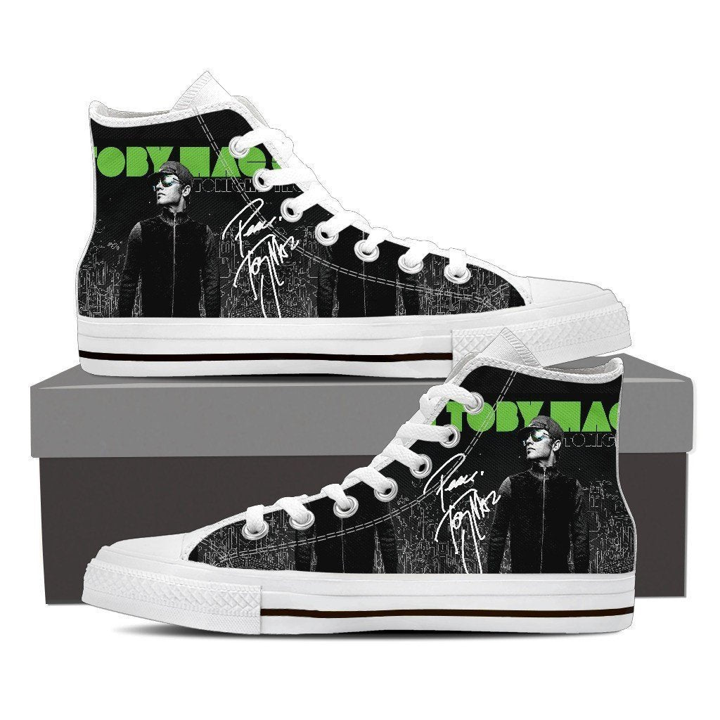tobymac mens high top sneakers