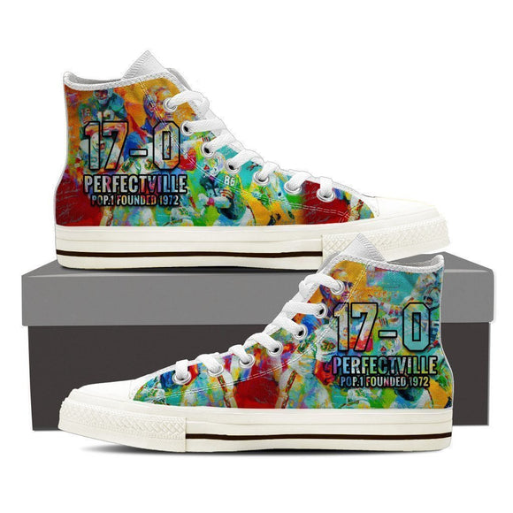 17 0 perfectville 1972 ladies high top sneakers
