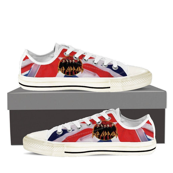 def leppard new mens low cut sneakers