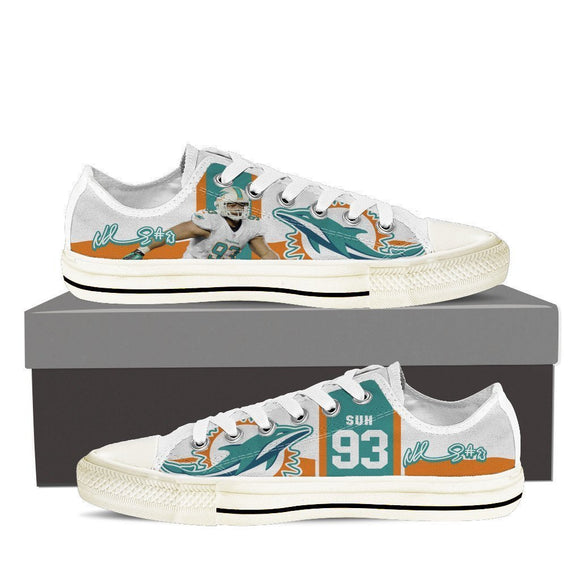 ndamukong suh ladies low cut sneakers