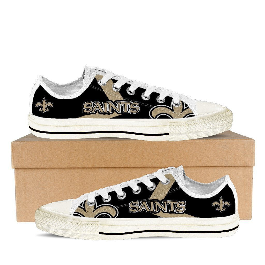 new orleans saints mens low cut sneakers cut