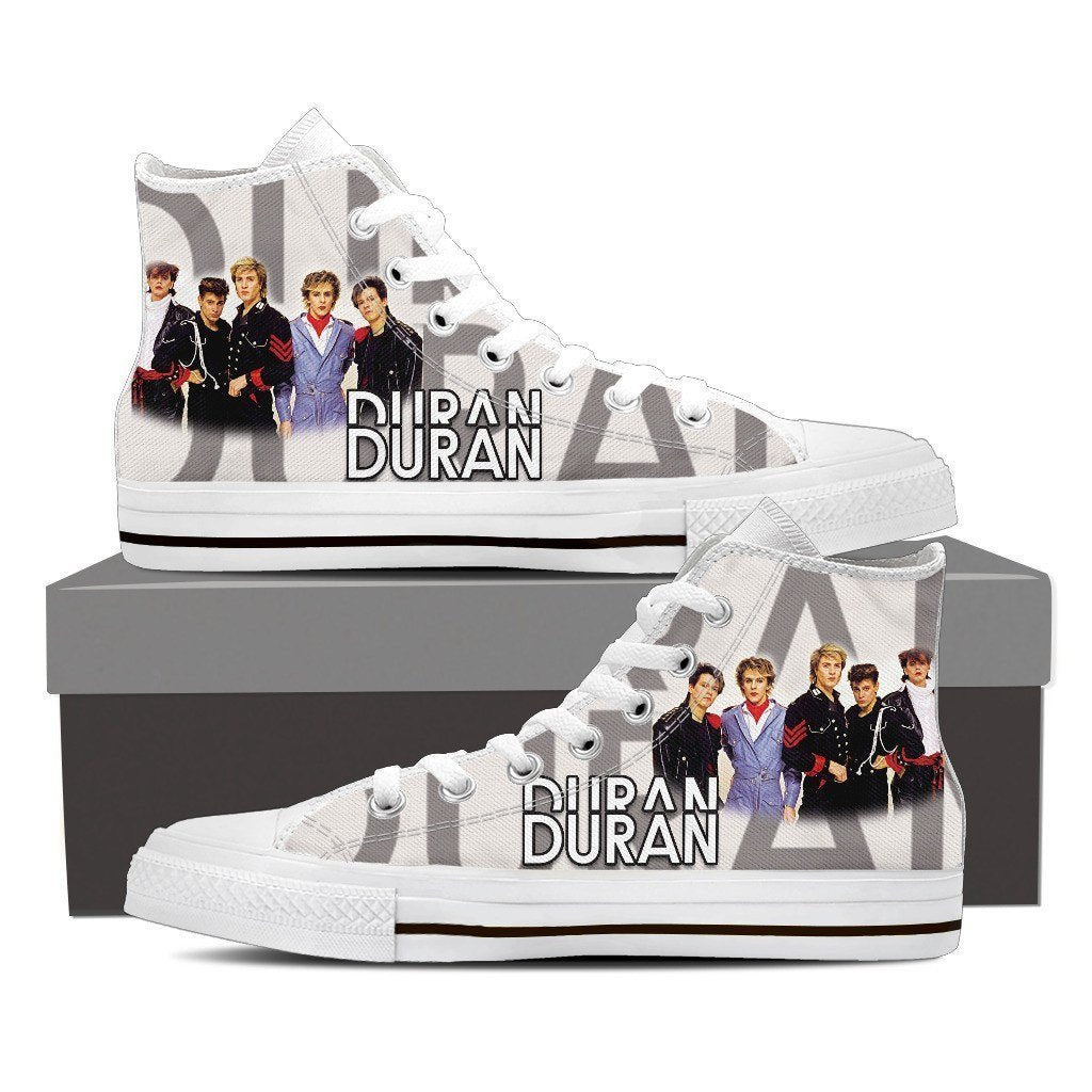 duran duran new mens high top sneakers
