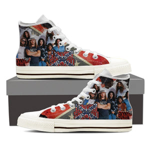 lynyrd skynyrd mens high top sneakers
