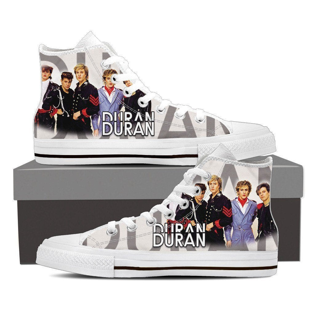 duran duran ladies high top sneakers