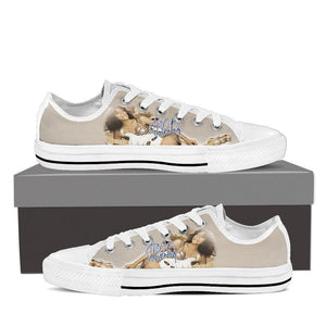 whitney houston ladies low cut sneakers