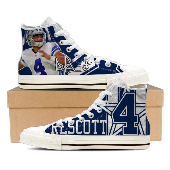 dak prescott mens high top sneakers high top
