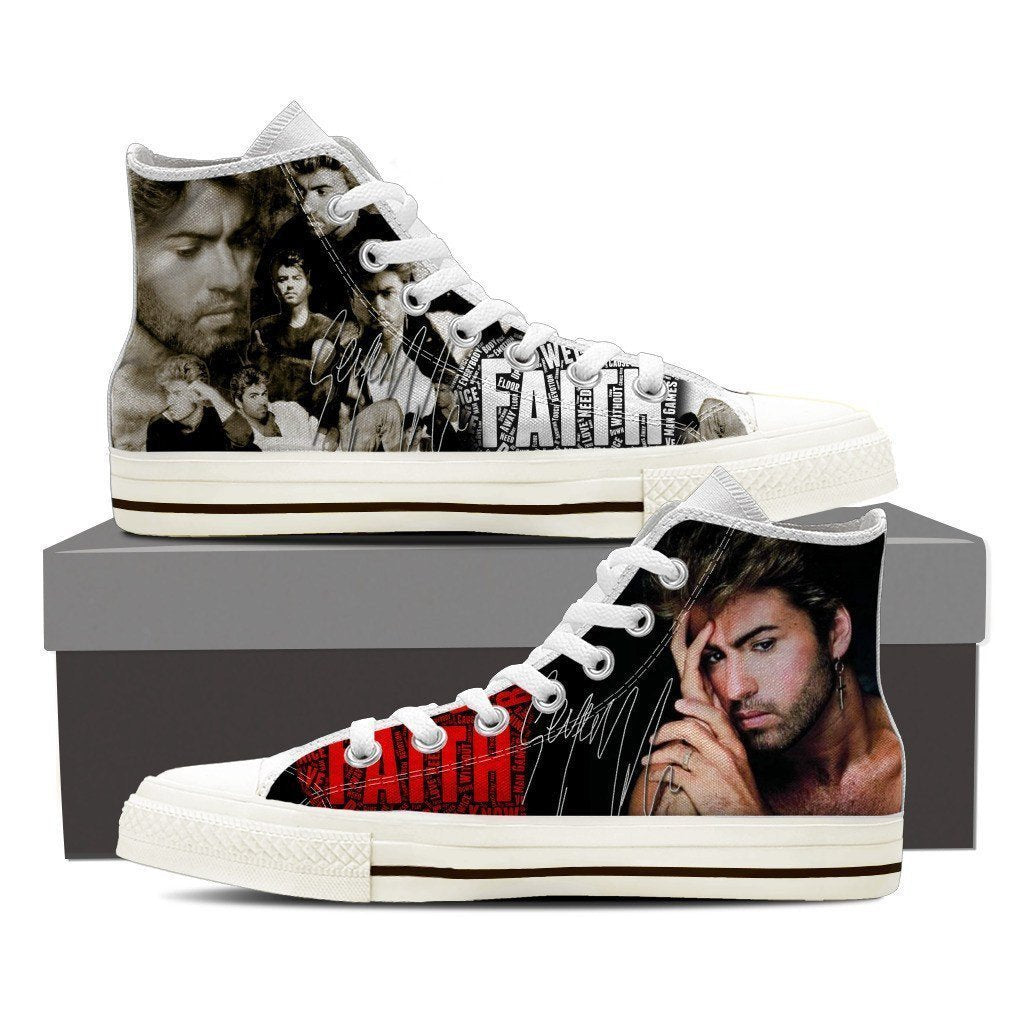george michael sneaker mens high top sneakers high top