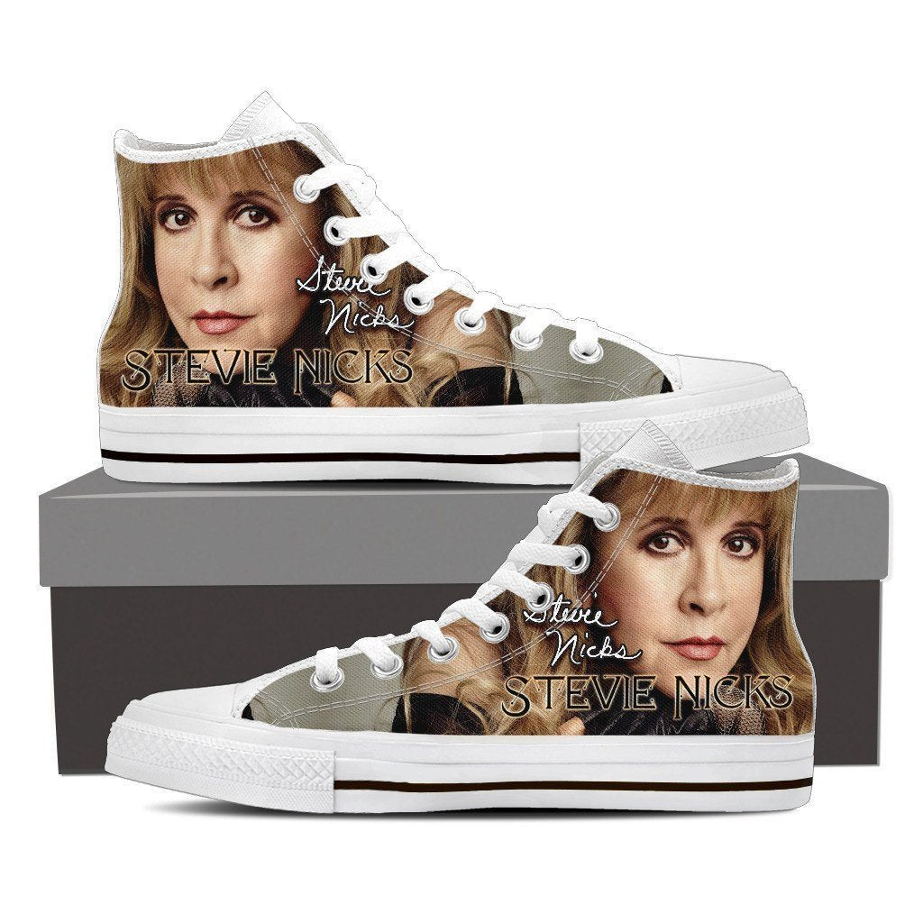 stevie nicks mens high top sneakers