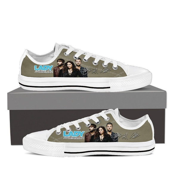 lady antebellum mens low cut sneakers