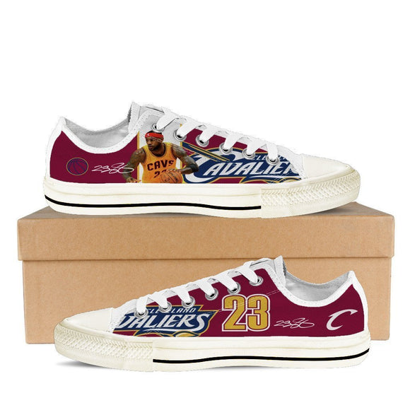 lebron james ladies low cut sneakers