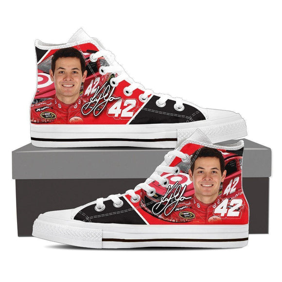 kyle larson mens high top sneakers