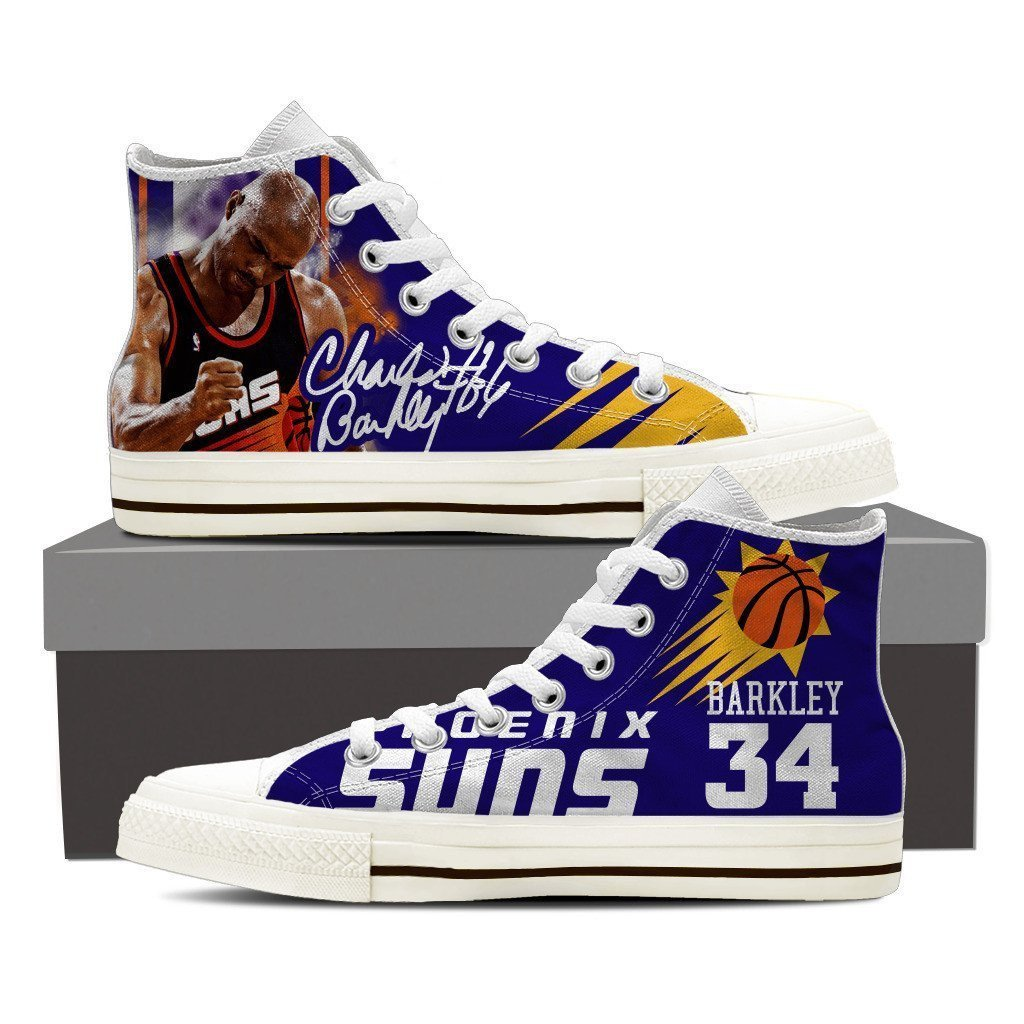 charles barkley mens high top sneakers high top