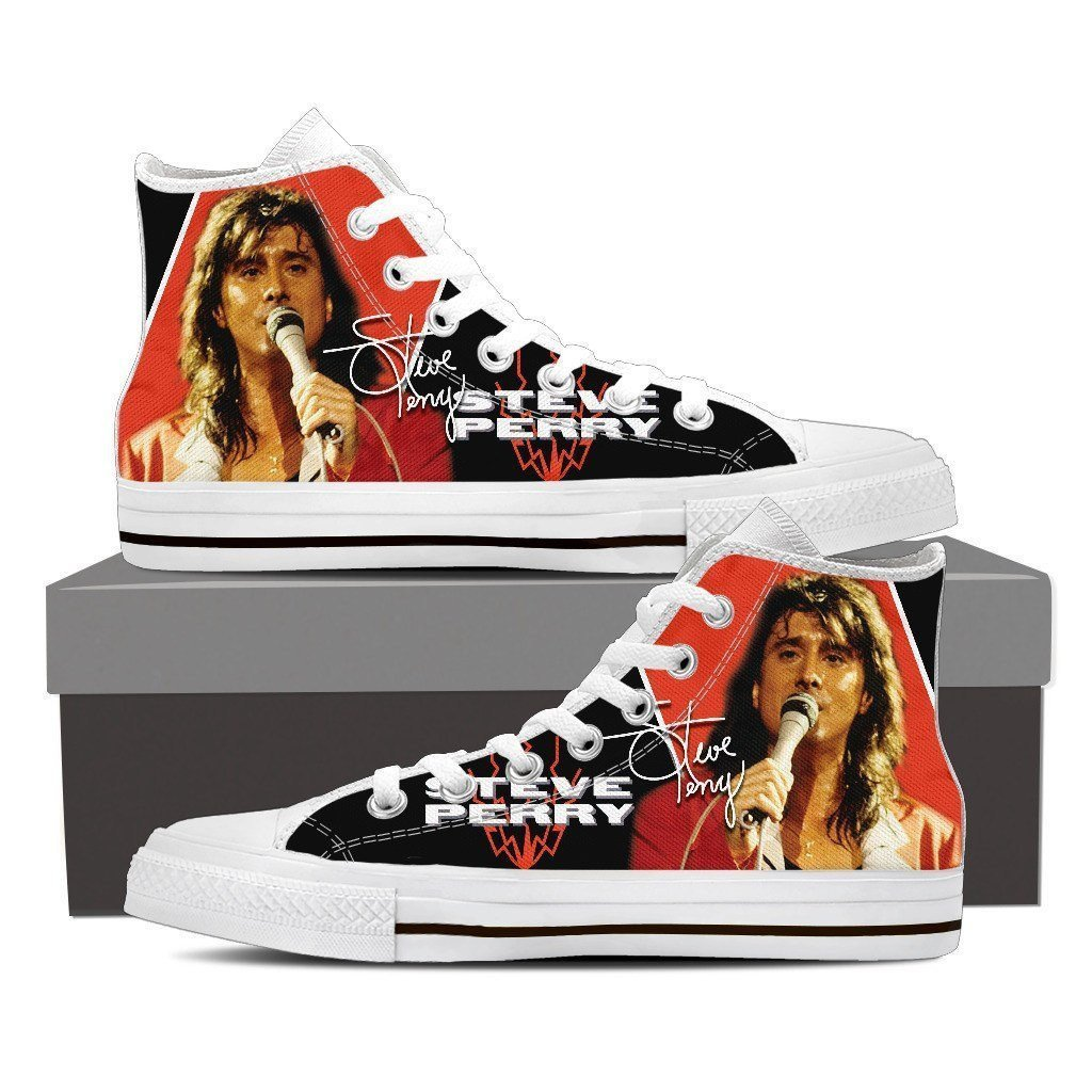 steve perry ladies high top sneakers