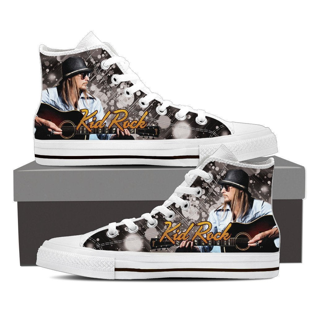 kid rock new mens high top sneakers