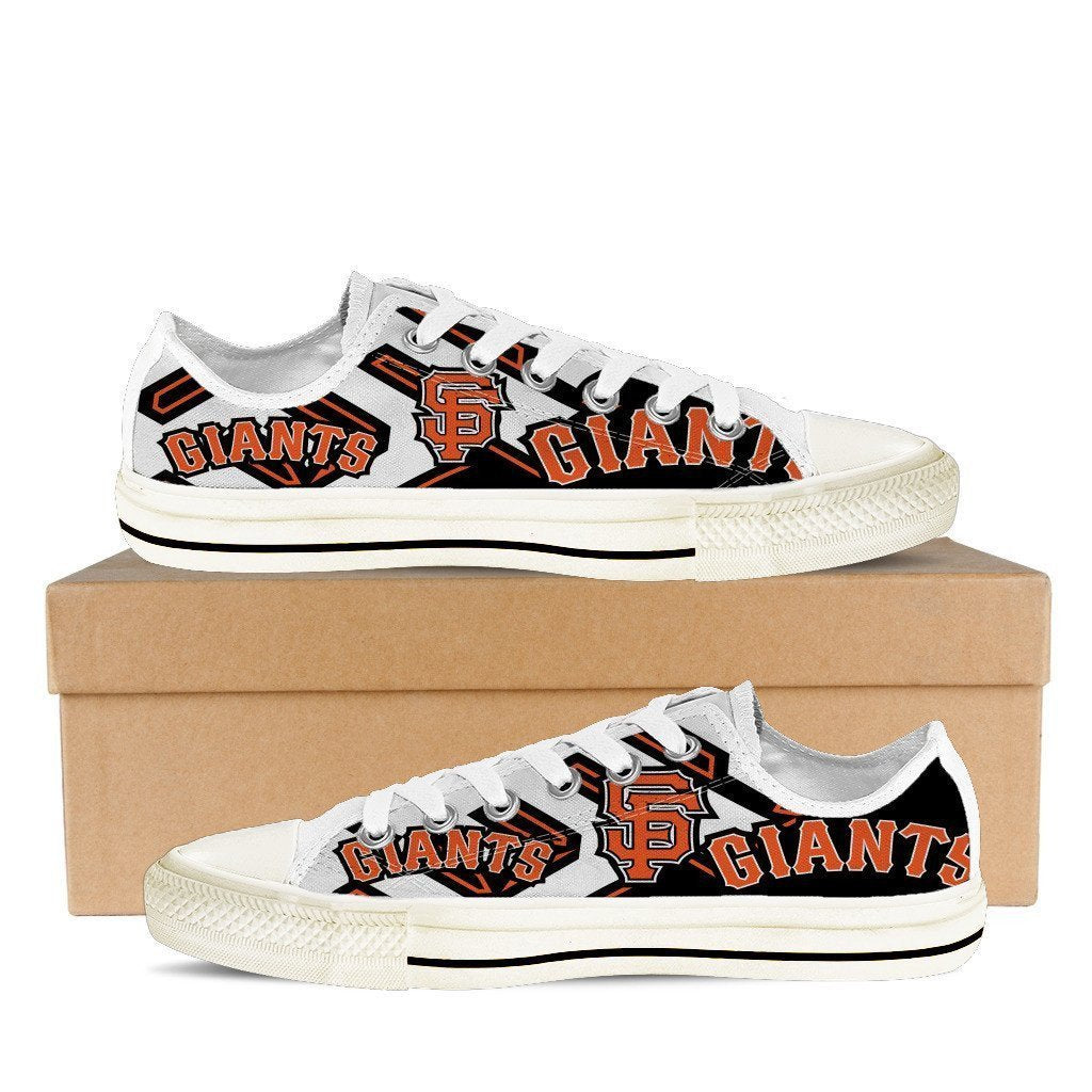 san francisco giants ladies low cut sneakers