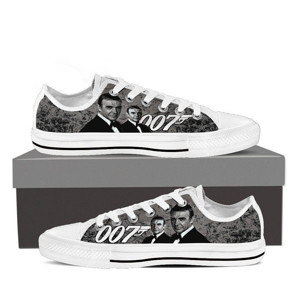 sean connery ladies low cut sneakers