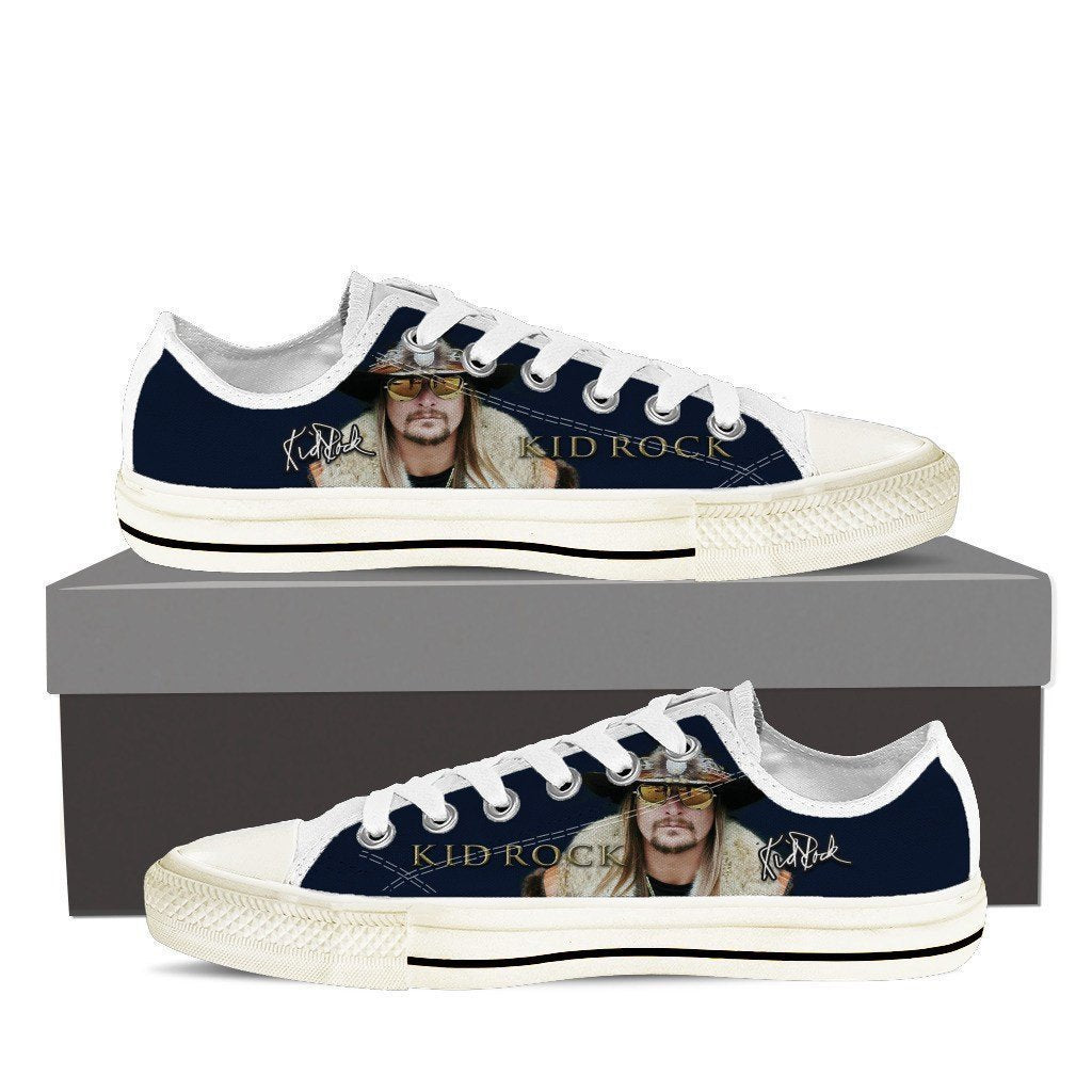 kid rock mens low cut sneakers