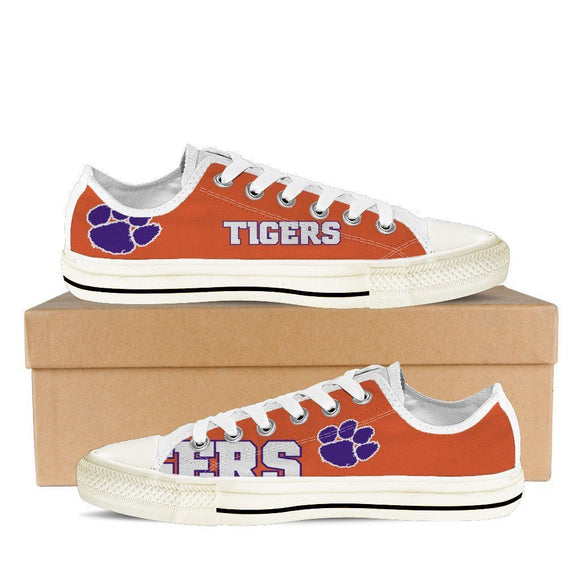 clemson tigers mens low cut sneakers cut