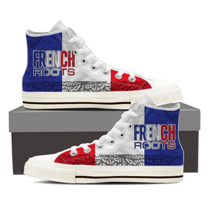 french roots mens high top sneakers high top