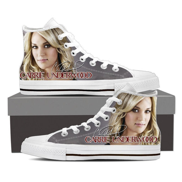 carrie underwood mens high top sneakers