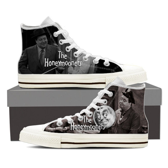 honeymooners ladies high top sneakers
