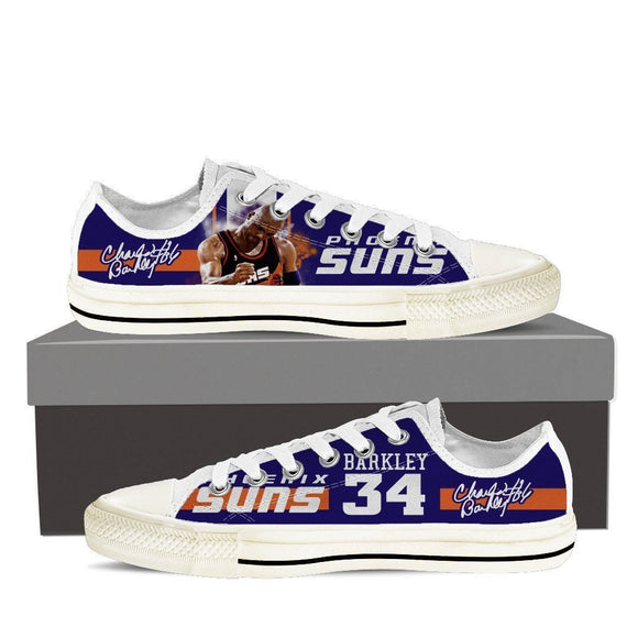 charles barkley ladies low cut sneakers