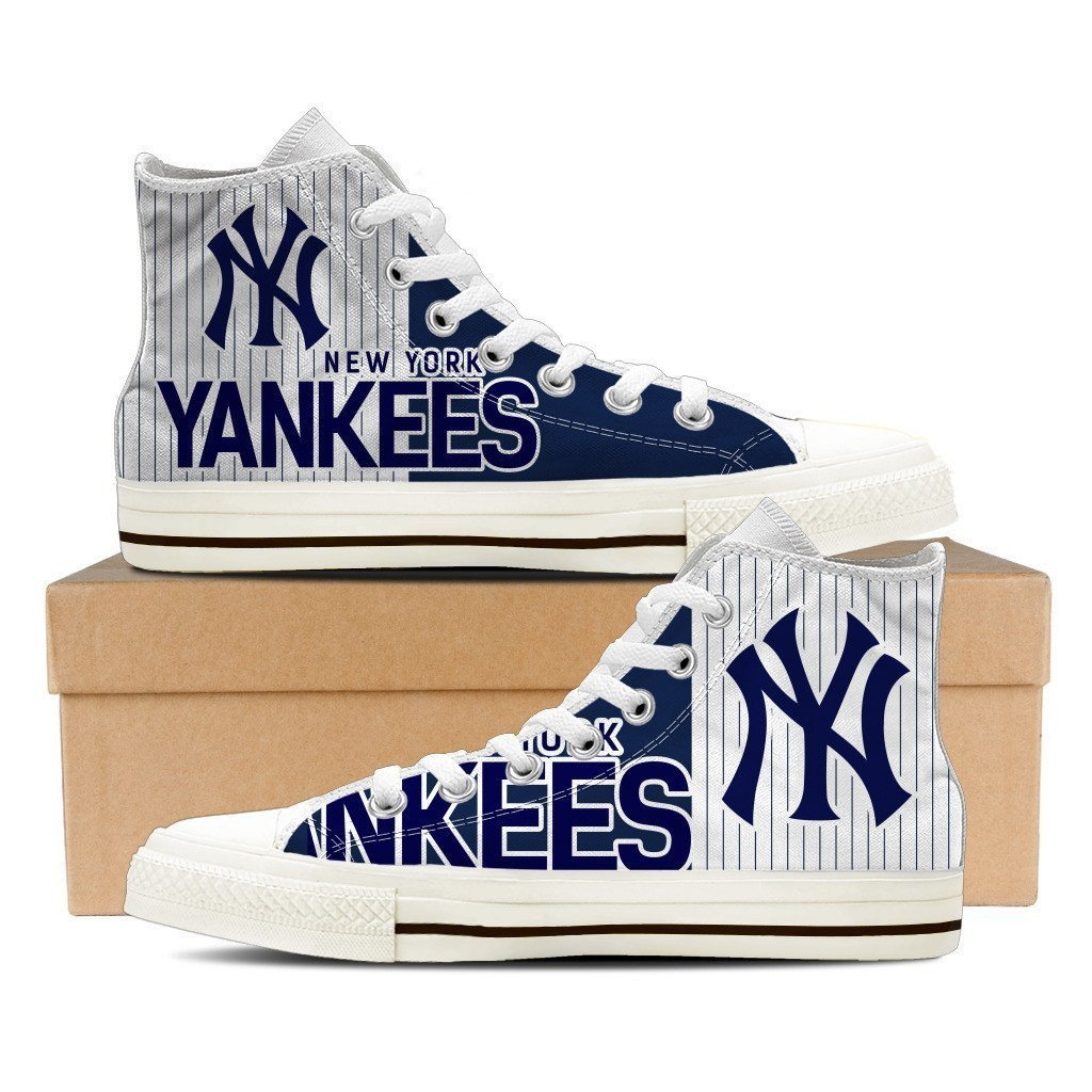 new york yankees ladies high top sneakers