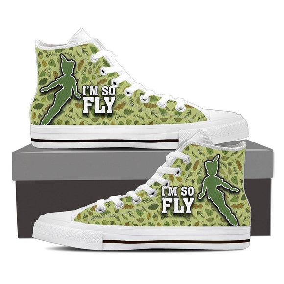 peter pan ladies high top sneakers