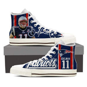 julian edelman ladies high top sneakers