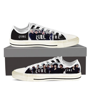 the cure mens low cut sneakers