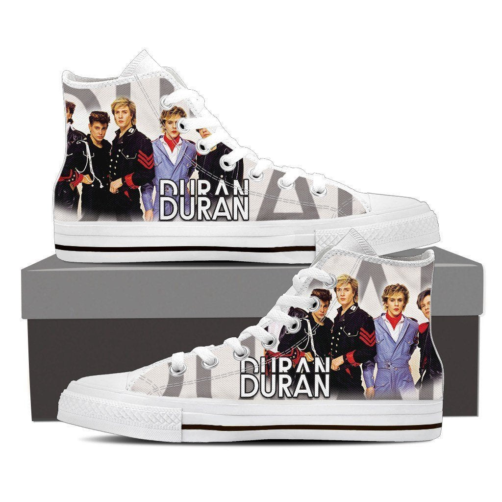 duran duran mens high top sneakers