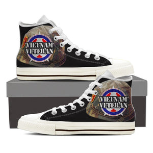 vietnam veteran ladies high top sneakers