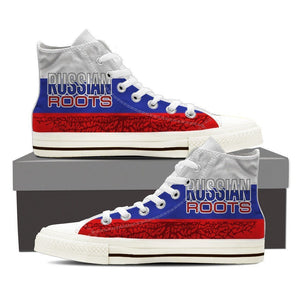 russian roots ladies high top sneakers