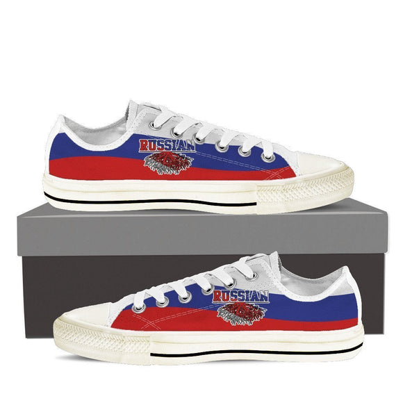russian roots new ladies low cut sneakers