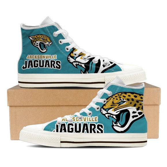 jacksonville jaguars ladies high top sneakers