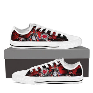 red hot chili peppers ladies low cut sneakers
