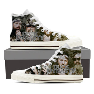 duck dynasty ladies high top sneakers