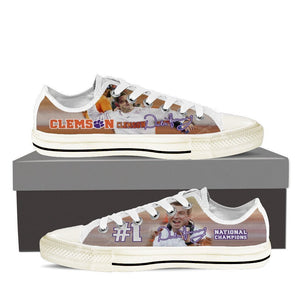 dabo swinney mens low cut sneakers cut