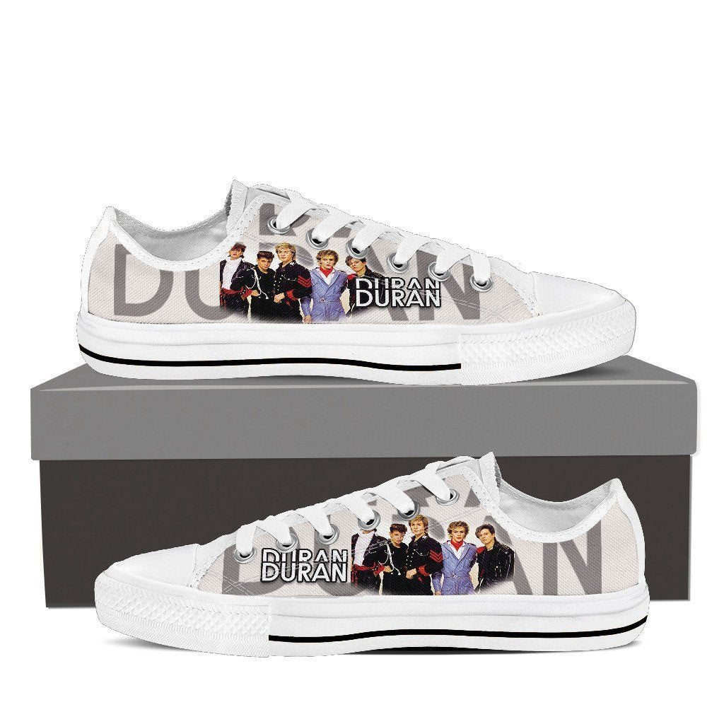 duran duran mens low cut sneakers