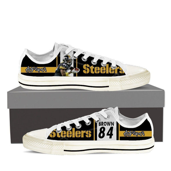 antonio brown mens low cut sneakers cut