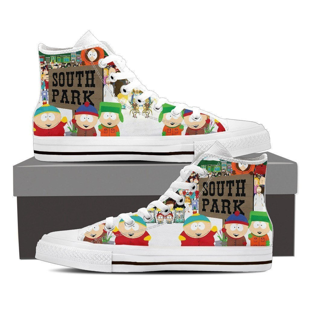 south park ladies high top sneakers