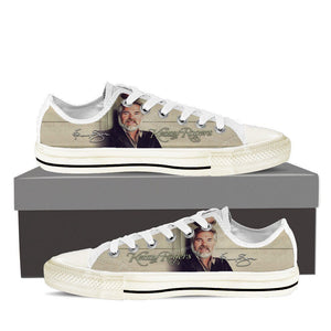 kenny rodgers mens low cut sneakers