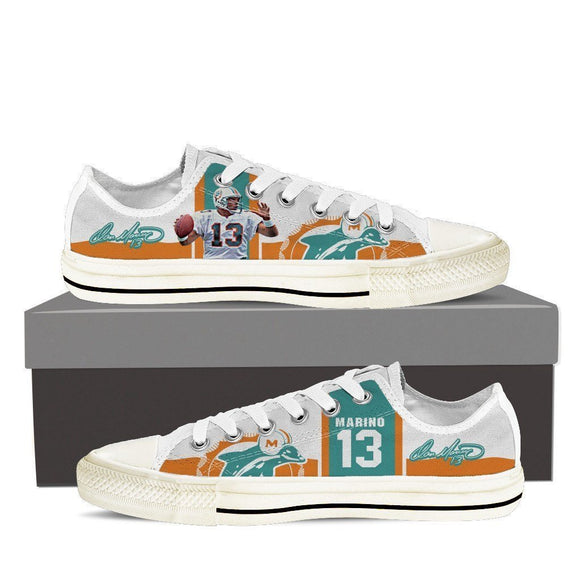 dan marino mens low cut sneakers cut