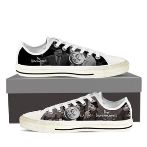 honeymooners mens low cut sneakers