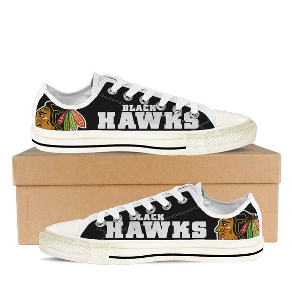 chicago blackhawks mens low cut sneakers cut