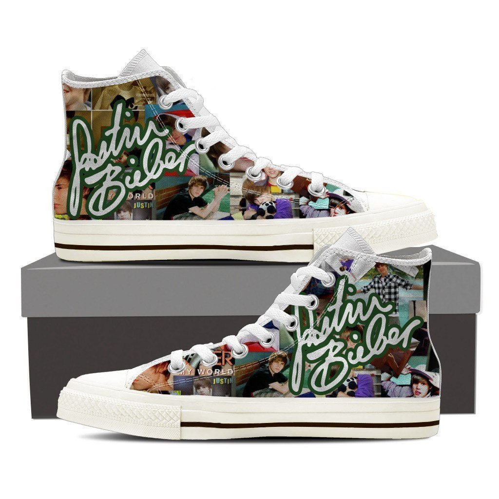 justin bieber mens high top sneakers high top